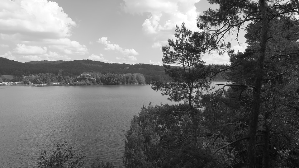 český ráj Komarovský rybník